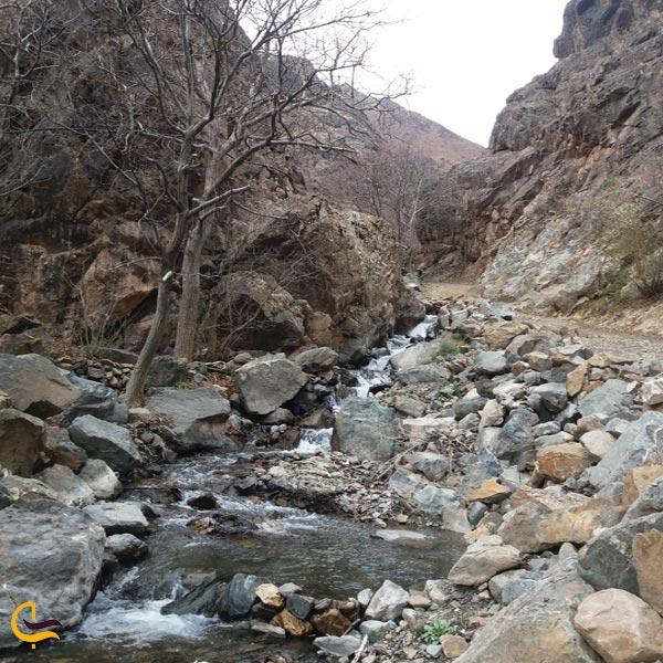 تصویری از آبشار روستای دررود