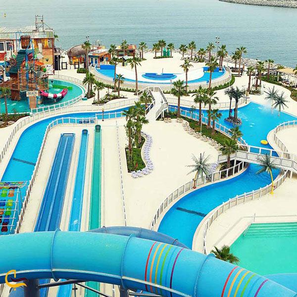 تصویری از پارک آبی لاگونا دبی