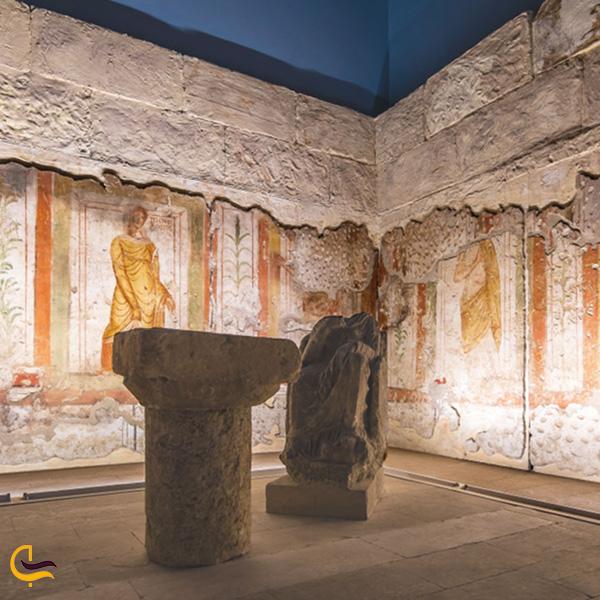 نمایی از موزه موزاییک