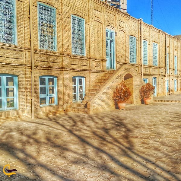 تصویری ازمعماری خانه ی تاریخی ملک