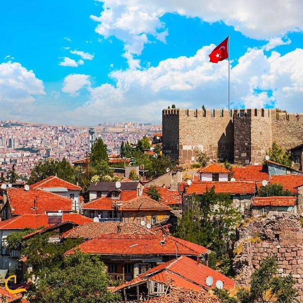 تصویری از قلعه آنکارا