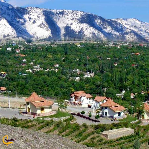 نمایی از شهر قمصر