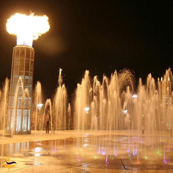 تصویری از پارک آب و آتش