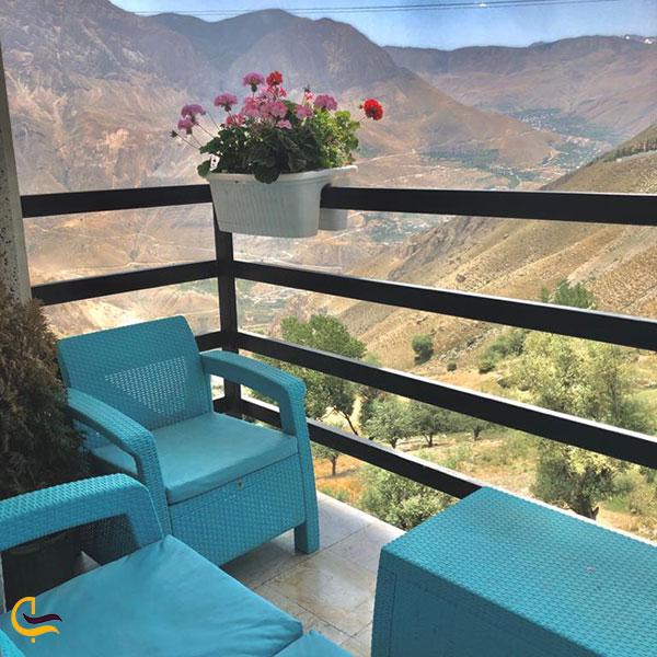 عکس اقامت در لاریجان