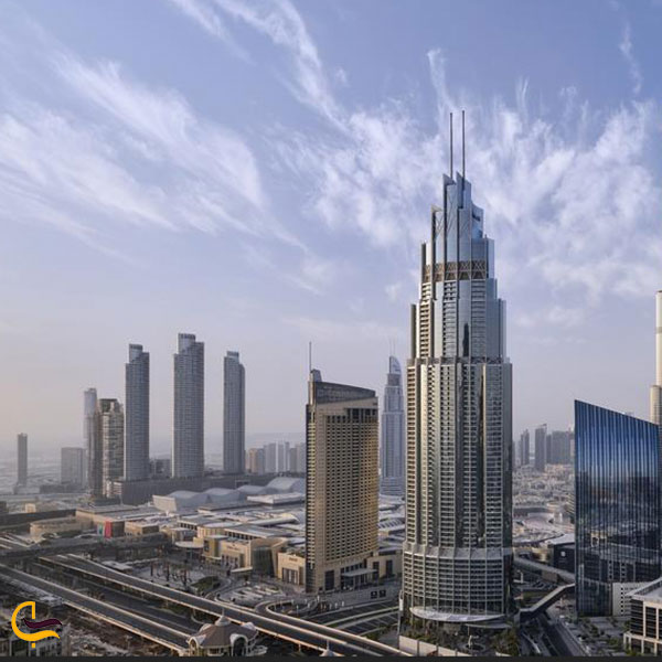 عکس برج ادرس بولوارد دبی
