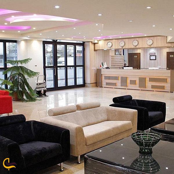 عکس هتل اهراب تبریز