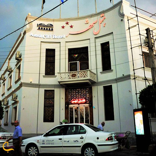 عکس هتل شهر آمل
