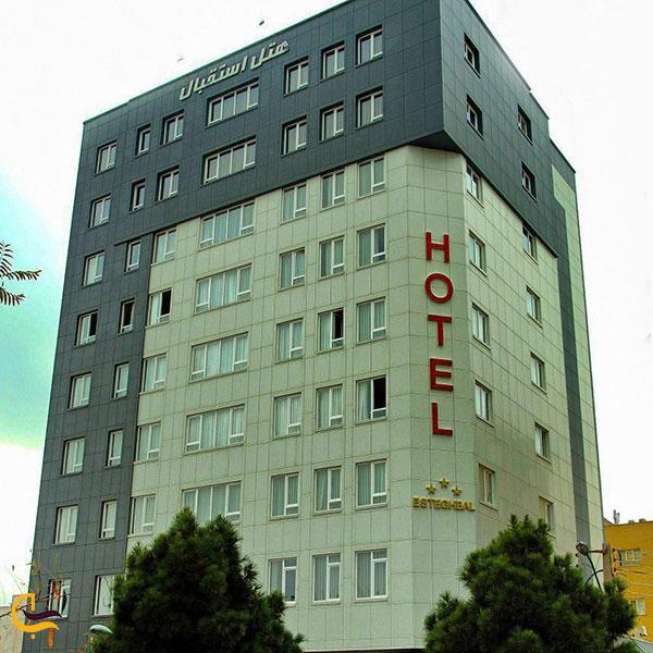عکس هتل آپارتمان استقبال تبریز