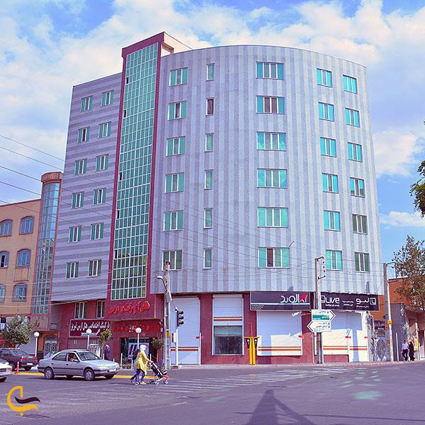 عکس هتل آپارتمان ارس