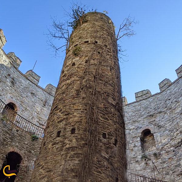 عکس ویژگیهای معماری قلعه روملی حصار