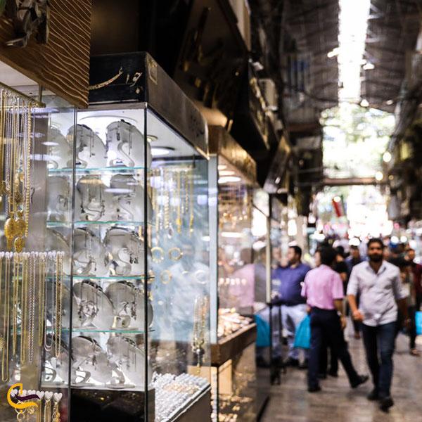 عکس بازار زرگرها کرمانشاه
