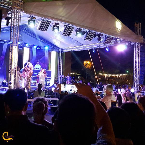 عکس عکس دورهمی شبانه میدان آزادی