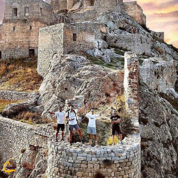 عکس قلعه بابک کلیبر