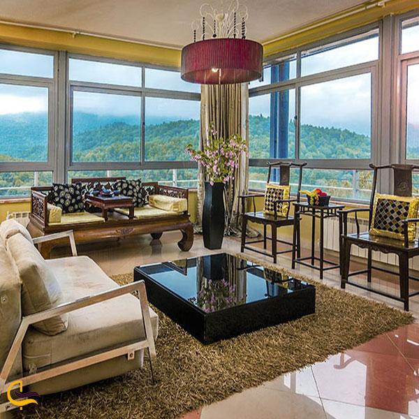تصویری از هتل بام سبز رامسر