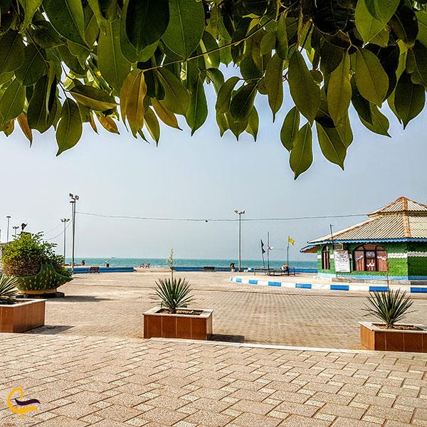 عکس کمپ ساحلی بندر دیلم