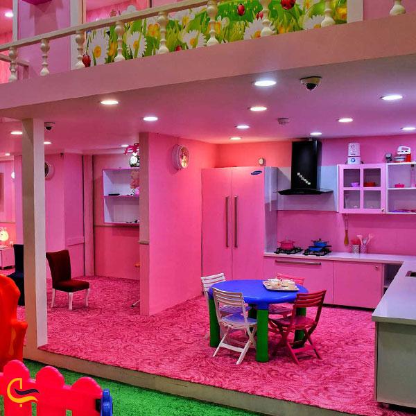 تصویری از خانه باربی کارالند