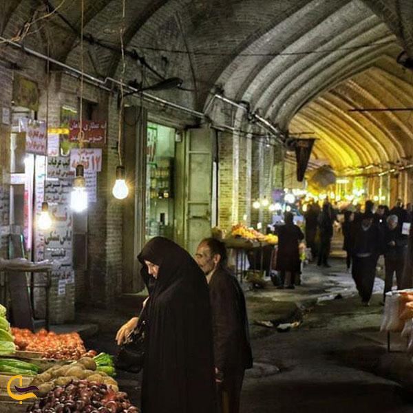 عکس بازار توپخانه کرمانشاه