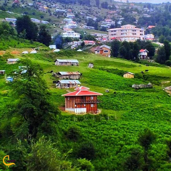 عکس روستای هلودشت