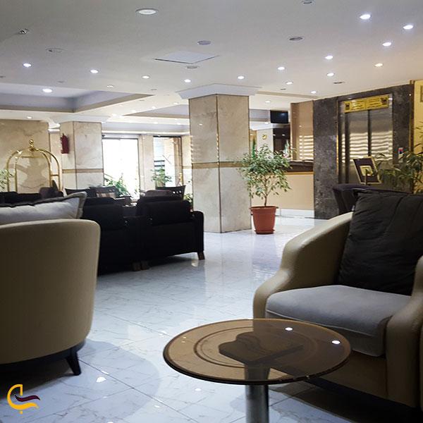 عکس هتل آپارتمان بهبود تبریز