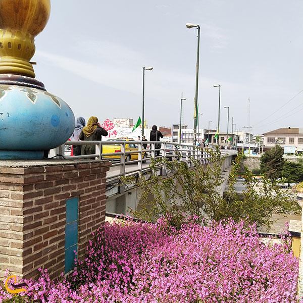 عکس بهترین زمان بازدید از پل دوازده چشمه آمل