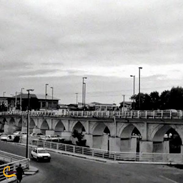 عکس قدمت و تاریخچه پل دوازده چشمه آمل