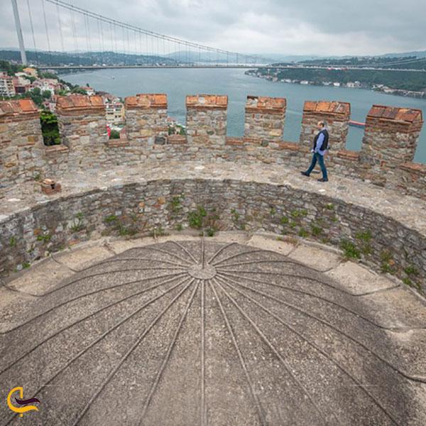 عکس بخشهای مختلف دژ روملی حصار استانبول