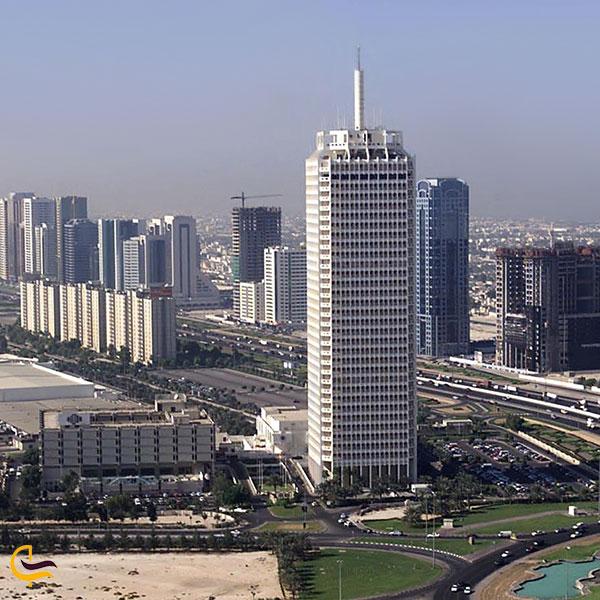 عکس مرکز تجاری تجارت جهان دبی