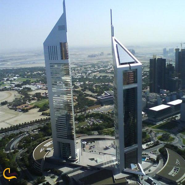 عکس برجهای اداری امارات