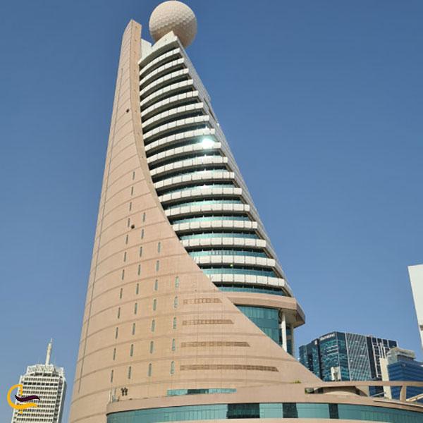 عکس برج اتصالات ۲ دبی