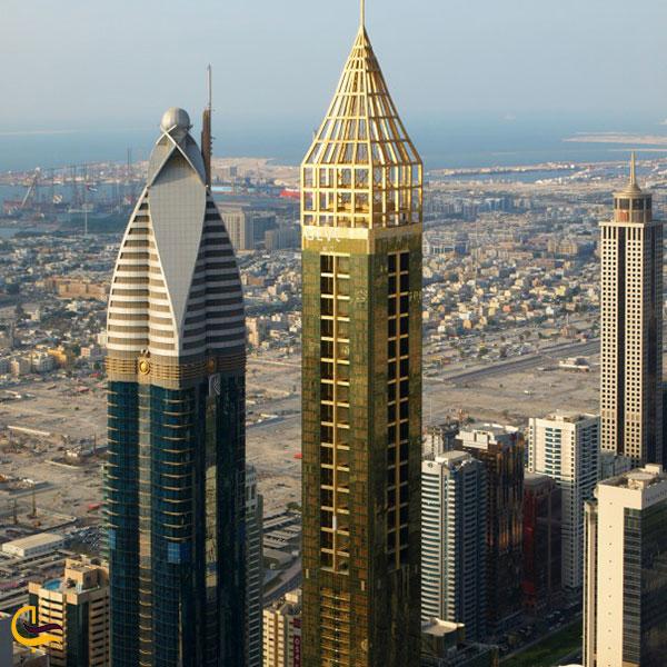 عکس برج هتل جوورا دبی