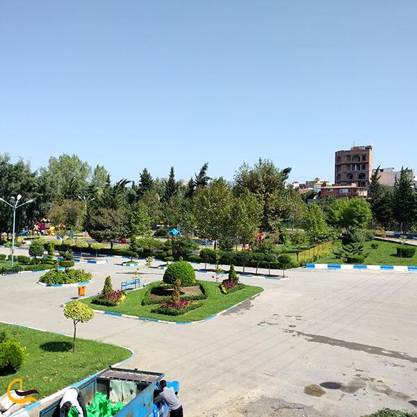 عکس پارک دهكده طلایی در شهر امل