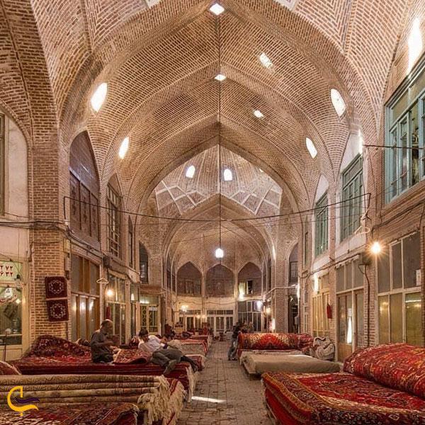 نمایی از بازار تاریخی تبریز