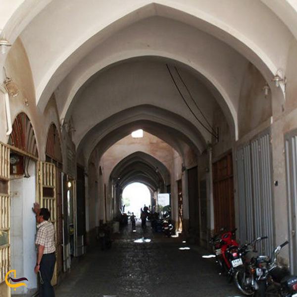 تصویری از بازار حاجی قنبر یزد