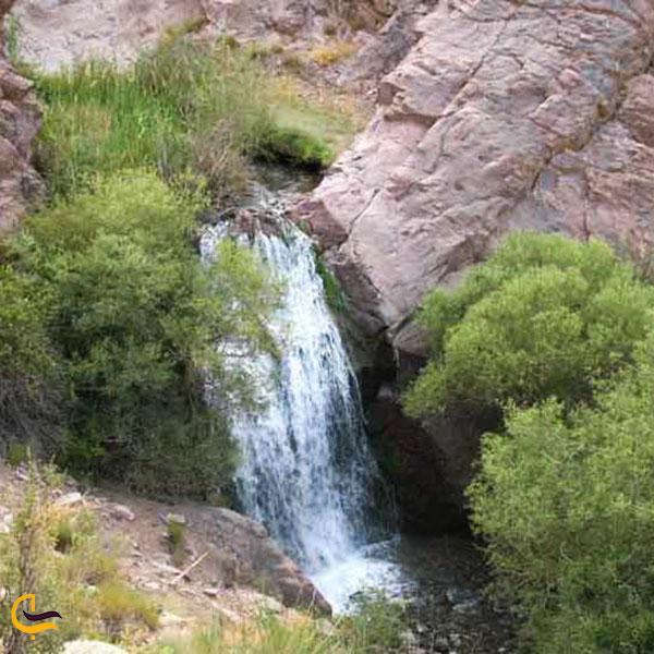 عکس آبشار حرمک گلباف