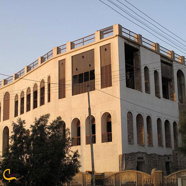 عکس عمارت تاریخی حاج رئیسالتجار