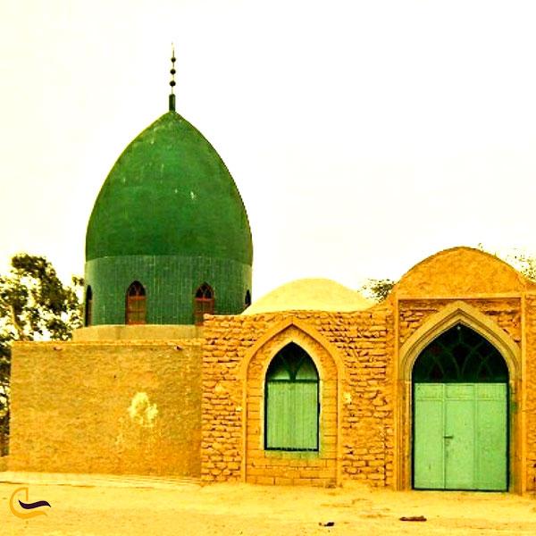عکس امامزاده بیبی حلیمه