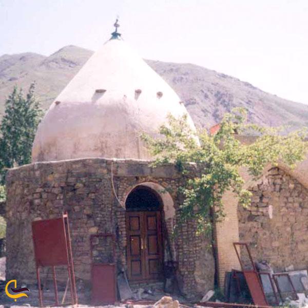 عکس امامزاده موسی و امامزاده طیب روستای آبنیک