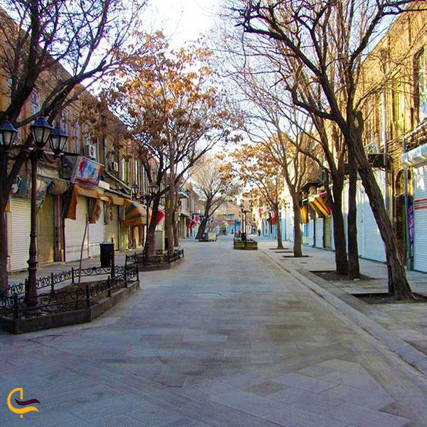 عکس معرفی خیابان تربیت در تبریز