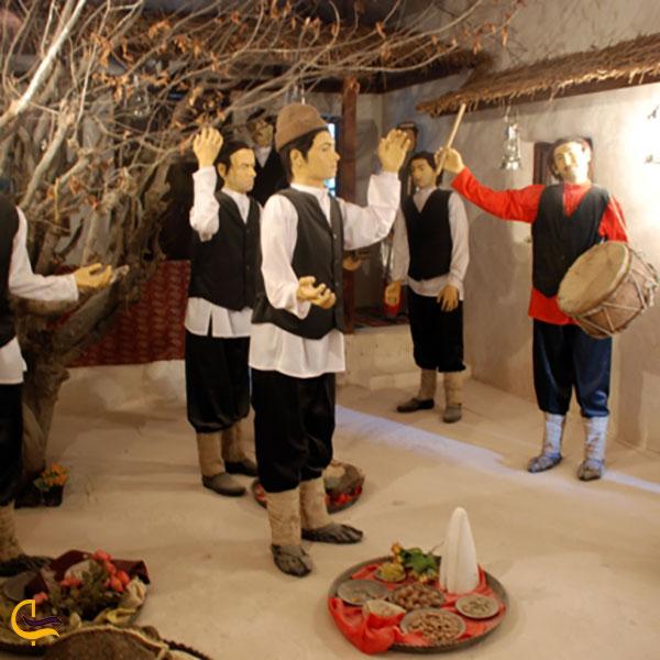 عکس وسایل داخل موزه مردم شناسی علی آباد کتول