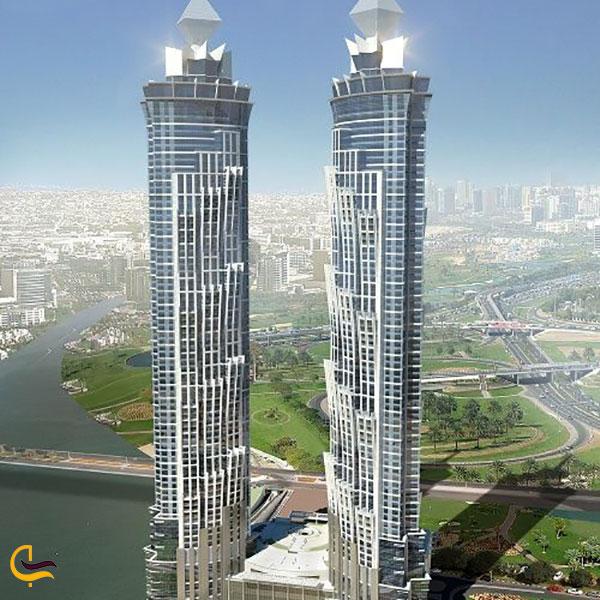 عکس برج جیدبلیو ماریوت مارکوییس دبی