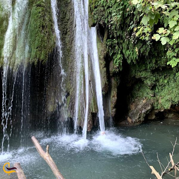 تصویری از آبشار کبودوال