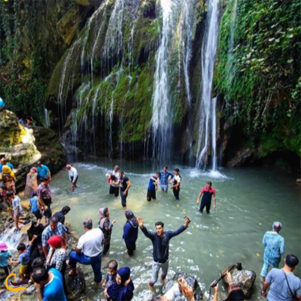 عکس آبشار کبودوال