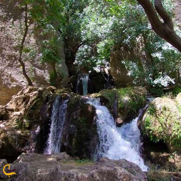 عکس آبشار کاهکده در لردگان