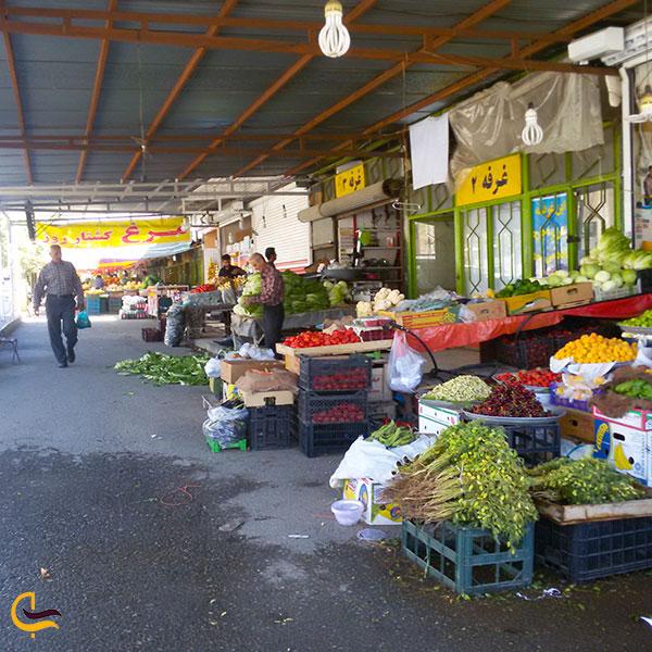 عکس بازار روز گلها کرمانشاه