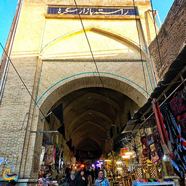 عکس بازار مسگرها در کرمانشاه