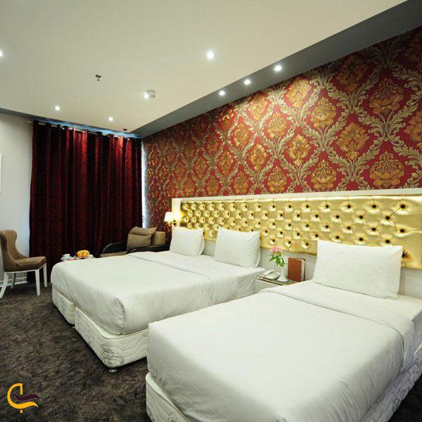 نمایی از هتل خواجو