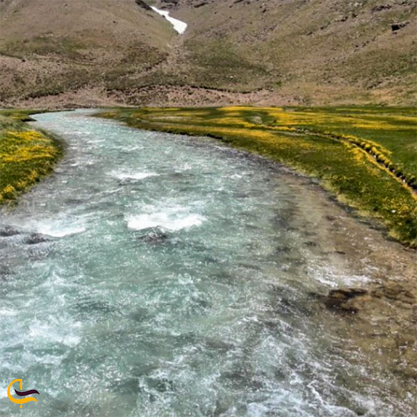 عکس رودخانه کجور