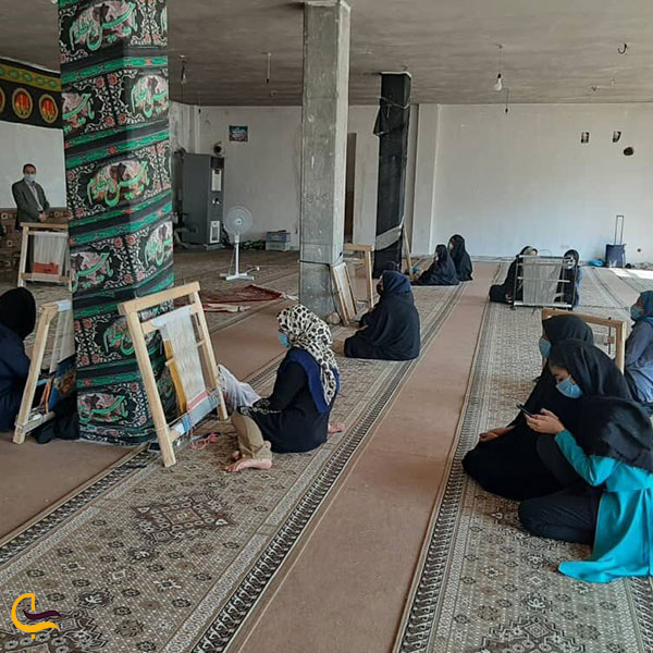 عکس ساخت صنایعدستی در کوهرنگ