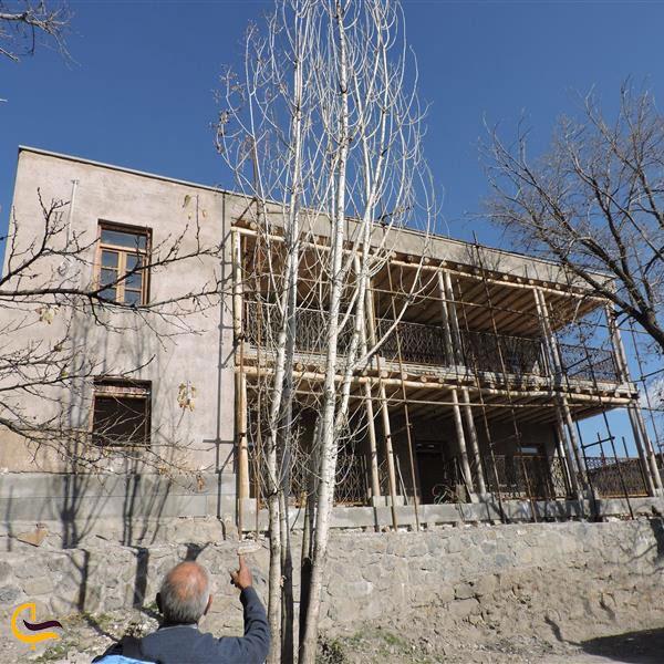 عکس خانه کودکی استاد شهریار روستای خشکناب تبریز