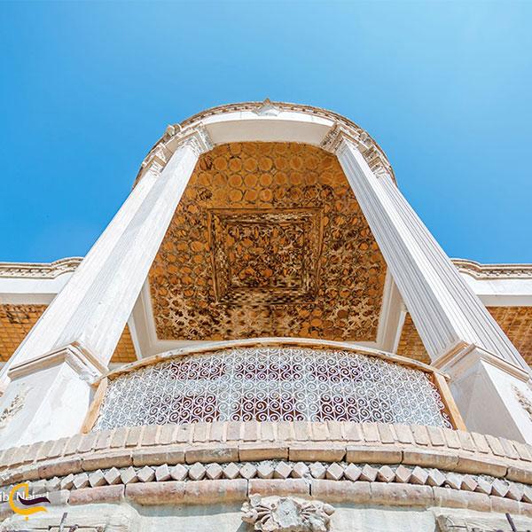 عکس معماری قلعه سالار محتشم